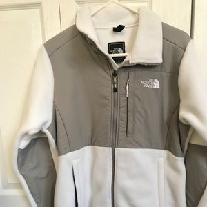 White north face women's jacket